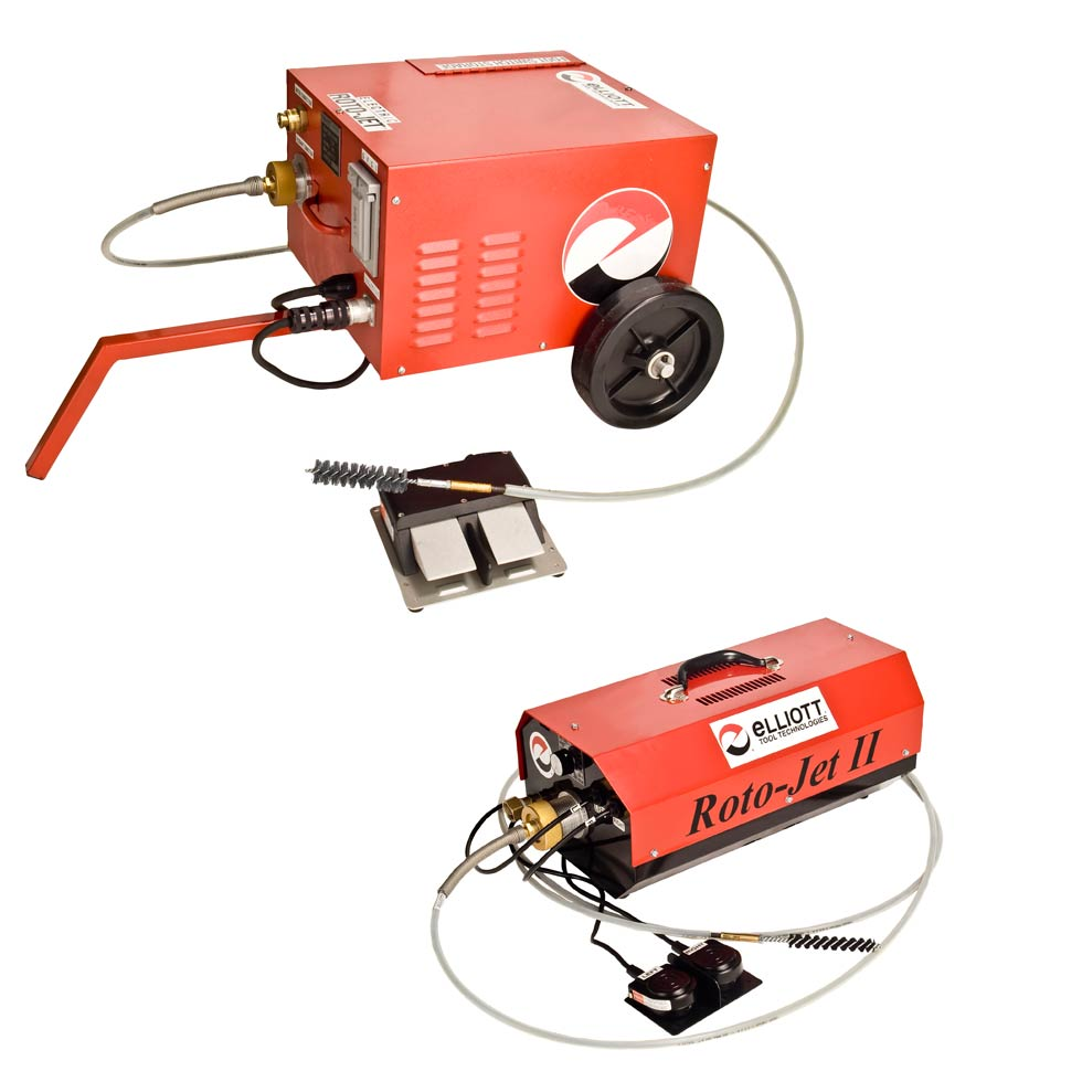 Roto-Jet I & II Tube Cleaning Systems