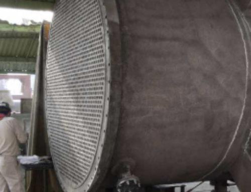 Taller De Fabricación De Una Planta Química Reporta Que La Vida Útil De Los Arpones Elliott Rindieron 10 Veces Mas Que Los De Arpones EGI