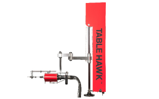 Table Hawk Tabletop Assisted Tube Rolling System