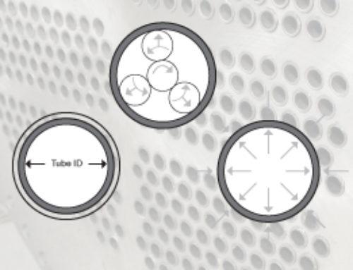 Determinar la reducción de pared adecuada con material de tubo